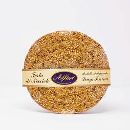 Torta di nocciole senza farina bassa 330 gr.