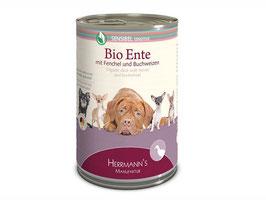 Bio-Ente mit Fenchel, Apfel und Buchweizen | Herrmann's