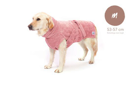 Hundebademantel Lill's in Pink Berry