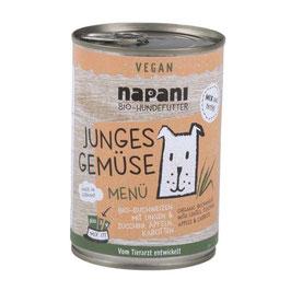 """Bio Menü für Hunde """"Junges Gemüse"""""""
