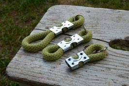 Schlüsselanhänger in Grün  Melange | Ropes Upcycled