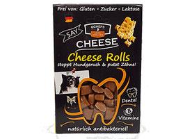 Cheese Rolls mit Extra-Käse und Reis   qchefs