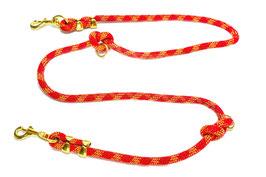 Lange Leine aus gebrauchtem Kletterseil zweifach verstellbar |  Ropes Upcycled