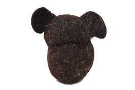 Teddy aus Bio-Wollfilz  | Herz & Hund