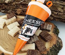 Käse-Hundesnack und Zahnfpflege als Schultüte | Qchefs
