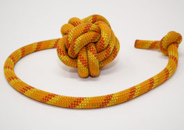 Schleuderball in Gelb-Orange-Rot | Ropes Upcycled