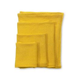 BUDDY. Kuscheldecke in Gelb