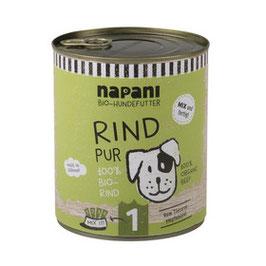 Bio-Hundefutter Rind pur | napani