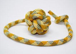 Schleuderball in Gelb-Weiß-Schwarz | Ropes Upcycled