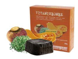 Vitaminbombe aus Steckrüben, Kürbis, Luzernengrünmehl & Eierschale | Fleischeslust
