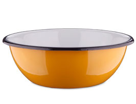 Emaille-Schüssel Orange