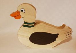 Tirelire Canard en bois