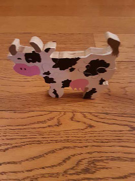 Puzzle petite vache (3 pièces)