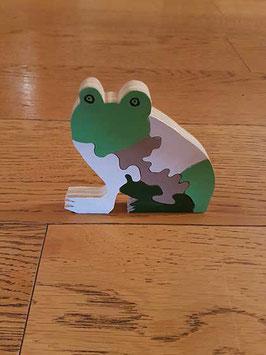Puzzle grenouille (5 pièces)
