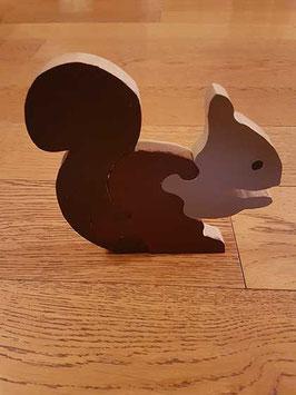 Puzzle écureuil (4 pièces)