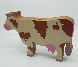 Tirelire Vache en bois