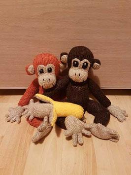 Les singes amoureux et leur banane