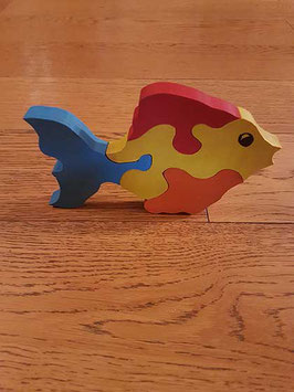 Puzzle poisson (4 pièces)
