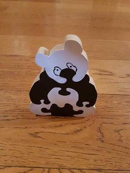 Puzzle panda (3 pièces)