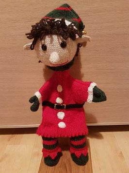 Marionnette lutin de Noël