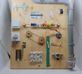 Tableau d'activité sensoriel Montessori