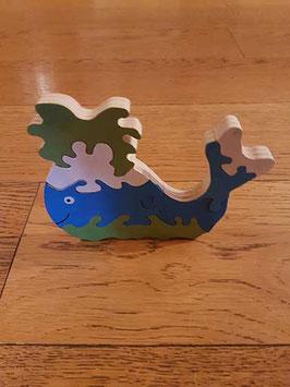 Puzzle baleine (7 pièces)