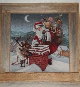 Tableau de Noël en bois