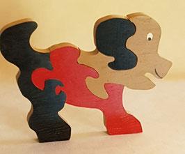 Puzzle chien (4 pièces)