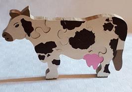 Puzzle Vache (7 pièces)