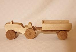 Tracteur et remorque à ridelle