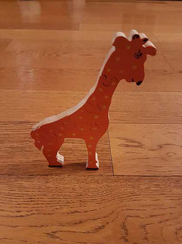Puzzle girafe (5 pièces)