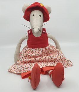 Hortense la Souris en tissus garçon ou fille