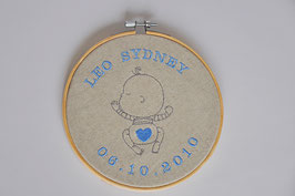 Little Boy Hoop