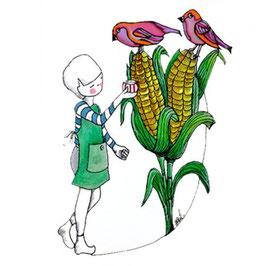 Birdy Corn - Infusion bio pour enfants