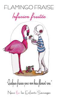 Flamingo Fraise - Infusion bio pour enfants
