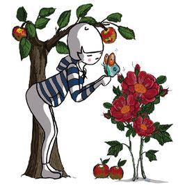 Apple Rose - Infusion bio pour enfant