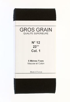 French Gros Grain Band N° 12 = 23''' = 50 mm