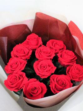 赤バラの花束 プロポーズ