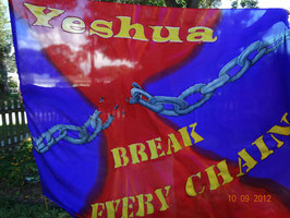 Break Every Chain Flex Flag - Large