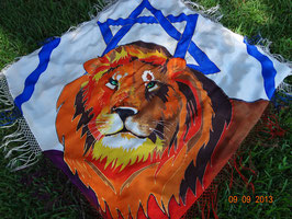 Lion/Star of David Prayer Shawl