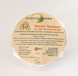 Savon - Masque au lait de chèvre Bio