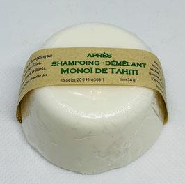 après  shampoing - démêlant  Monoï de Tahiti solid