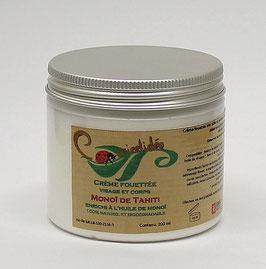 Crème fouettée visage et corps  Monoï de Tahiti enrichi à l'huile de monoï