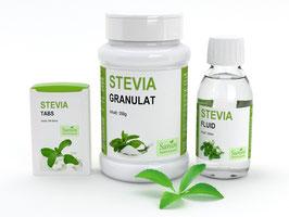 Sanios Stevia Set 2 (Tabs, Ganulat, Fluid)
