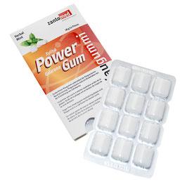 Zanto-Med Power Gum mit Guarana - 12 Stück