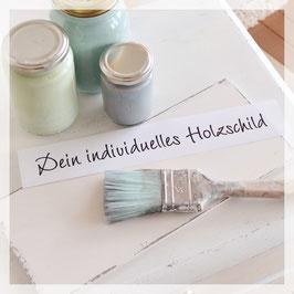 Schriftfarbe für dein individuelles Schild
