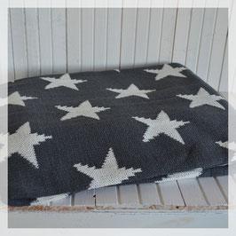 Decke, dunkelblau mit weissen Sternen