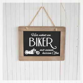 Schiefertafel, Biker