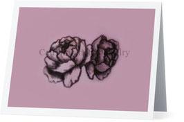 Petal Pink Peony Greeting Card