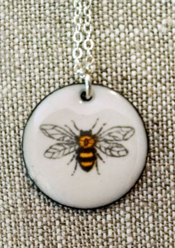 Large Round Necklace in HoneyBee